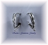 STERLING SILVER DIAMOND CUT LEVERBACKS